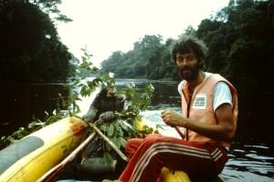 Französisch Guayana, Raft und Einbaum