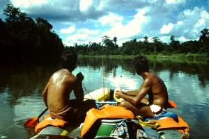 Papua-Neuguinea Rafting im Hochland