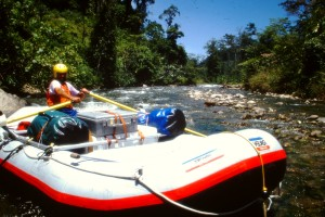 Sumatra Red Ape River Rafting